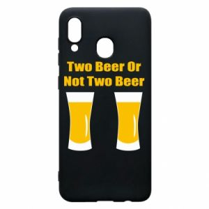 Etui na Samsung A30 Two beers or not two beers - PrintSalon