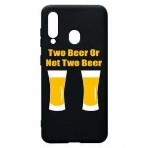 Etui na Samsung A60 Two beers or not two beers - PrintSalon
