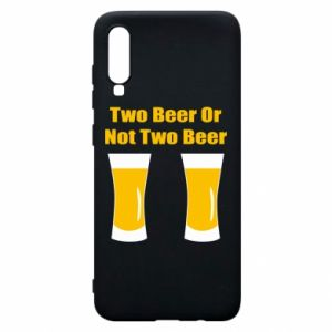 Etui na Samsung A70 Two beers or not two beers - PrintSalon