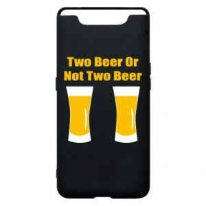 Etui na Samsung A80 Two beers or not two beers - PrintSalon
