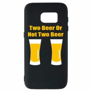 Etui na Samsung S7 Two beers or not two beers - PrintSalon