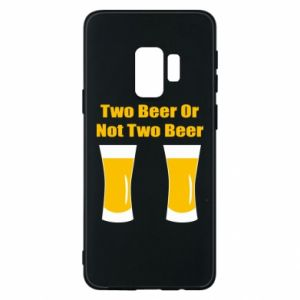 Etui na Samsung S9 Two beers or not two beers - PrintSalon