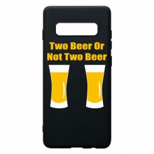 Samsung S10+ Case Two beers or not two beers