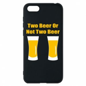 Huawei Y5 2018 Case Two beers or not two beers