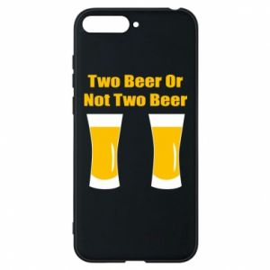 Huawei Y6 2018 Case Two beers or not two beers