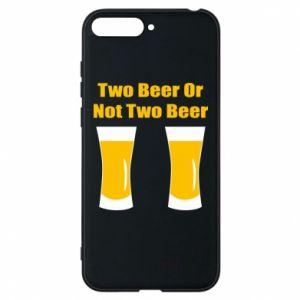 Etui na Huawei Y6 2018 Two beers or not two beers - PrintSalon