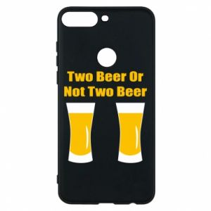 Huawei Y7 Prime 2018 Case Two beers or not two beers