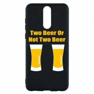 Huawei Mate 10 Lite Case Two beers or not two beers