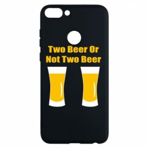 Etui na Huawei P Smart Two beers or not two beers - PrintSalon