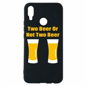 Huawei P Smart Plus Case Two beers or not two beers