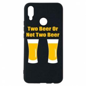 Etui na Huawei P Smart Plus Two beers or not two beers - PrintSalon