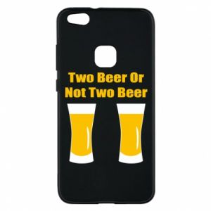 Huawei P10 Lite Case Two beers or not two beers