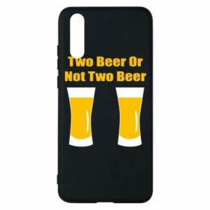Etui na Huawei P20 Two beers or not two beers - PrintSalon