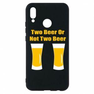 Etui na Huawei P20 Lite Two beers or not two beers - PrintSalon