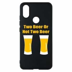 Etui na Xiaomi Mi A2 Two beers or not two beers - PrintSalon