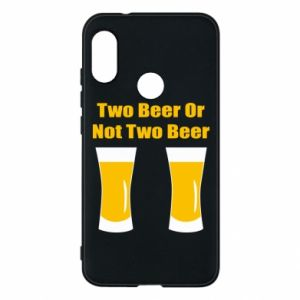 Etui na Mi A2 Lite Two beers or not two beers - PrintSalon