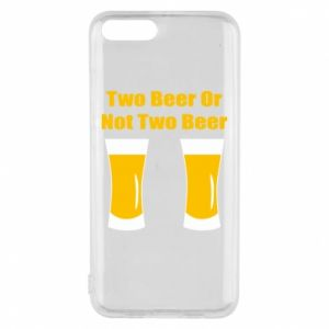 Etui na Xiaomi Mi6 Two beers or not two beers - PrintSalon