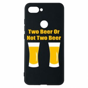 Xiaomi Mi8 Lite Case Two beers or not two beers