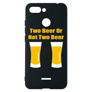 Etui na Xiaomi Redmi 6 Two beers or not two beers - PrintSalon