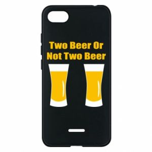 Etui na Xiaomi Redmi 6A Two beers or not two beers - PrintSalon