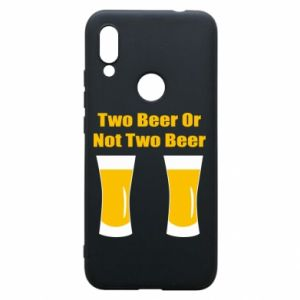 Etui na Xiaomi Redmi 7 Two beers or not two beers - PrintSalon
