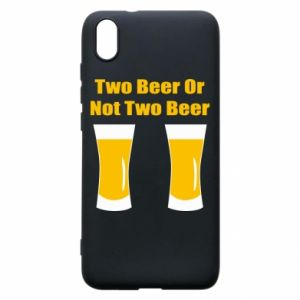 Etui na Xiaomi Redmi 7A Two beers or not two beers - PrintSalon