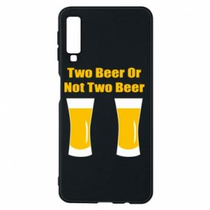 Etui na Samsung A7 2018 Two beers or not two beers - PrintSalon