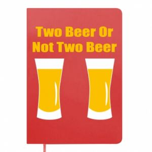 Notes Two beers or not two beers - PrintSalon