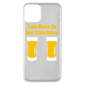 Etui na iPhone 11 Two beers or not two beers - PrintSalon