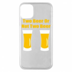 Etui na iPhone 11 Pro Two beers or not two beers - PrintSalon