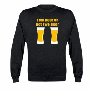 Kid's sweatshirt Two beers or not two beers
