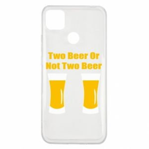 Xiaomi Redmi 9c Case Two beers or not two beers