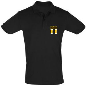 Men's Polo shirt Two beers or not two beers