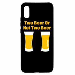Xiaomi Redmi 9a Case Two beers or not two beers