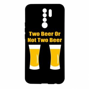 Xiaomi Redmi 9 Case Two beers or not two beers