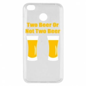 Xiaomi Redmi 4X Case Two beers or not two beers
