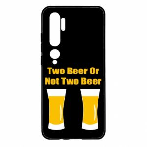 Xiaomi Mi Note 10 Case Two beers or not two beers