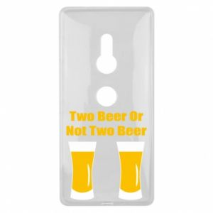 Sony Xperia XZ2 Case Two beers or not two beers