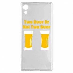 Sony Xperia XA1 Case Two beers or not two beers