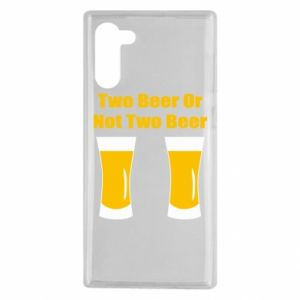 Samsung Note 10 Case Two beers or not two beers