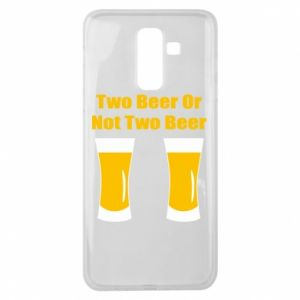 Samsung J8 2018 Case Two beers or not two beers