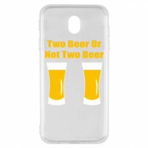 Samsung J7 2017 Case Two beers or not two beers
