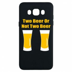 Samsung J7 2016 Case Two beers or not two beers