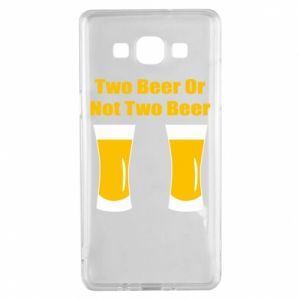 Samsung A5 2015 Case Two beers or not two beers