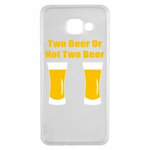 Samsung A3 2016 Case Two beers or not two beers