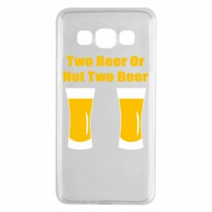 Samsung A3 2015 Case Two beers or not two beers