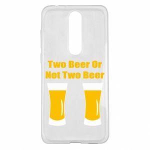 Nokia 5.1 Plus Case Two beers or not two beers