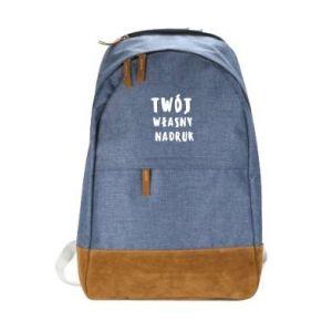 Miejski plecak Twój własny nadruk
