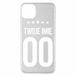 Phone case for iPhone 11 Pro Max Your name