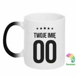 Two-toned mug 450ml Your name